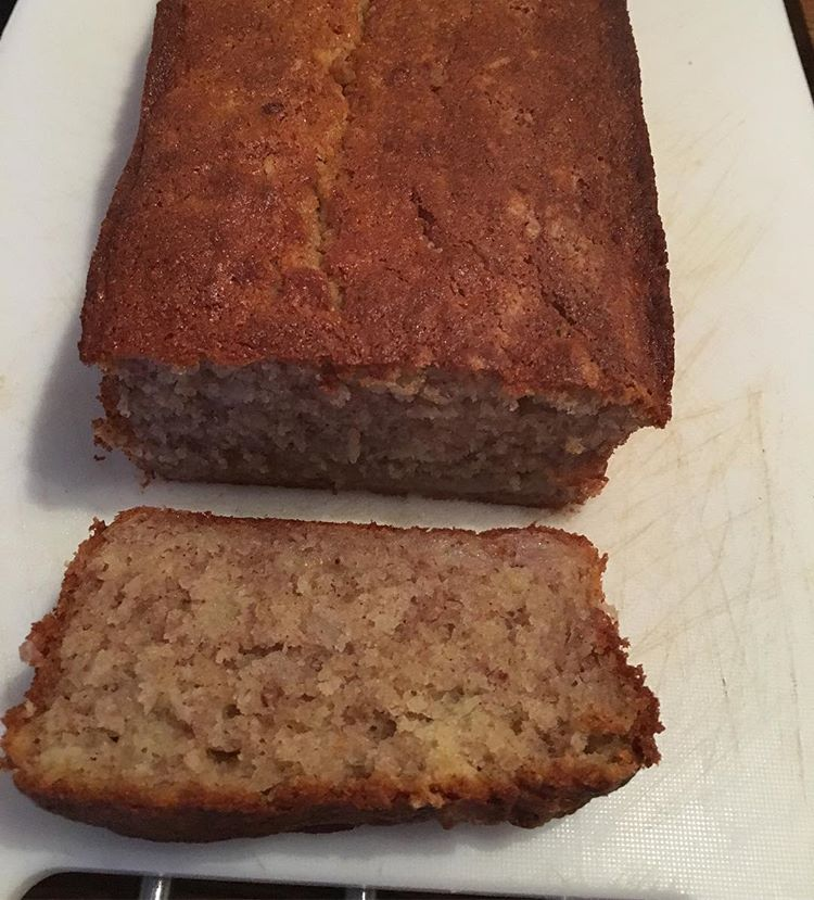 Simple gluten and dairy free banana loaf