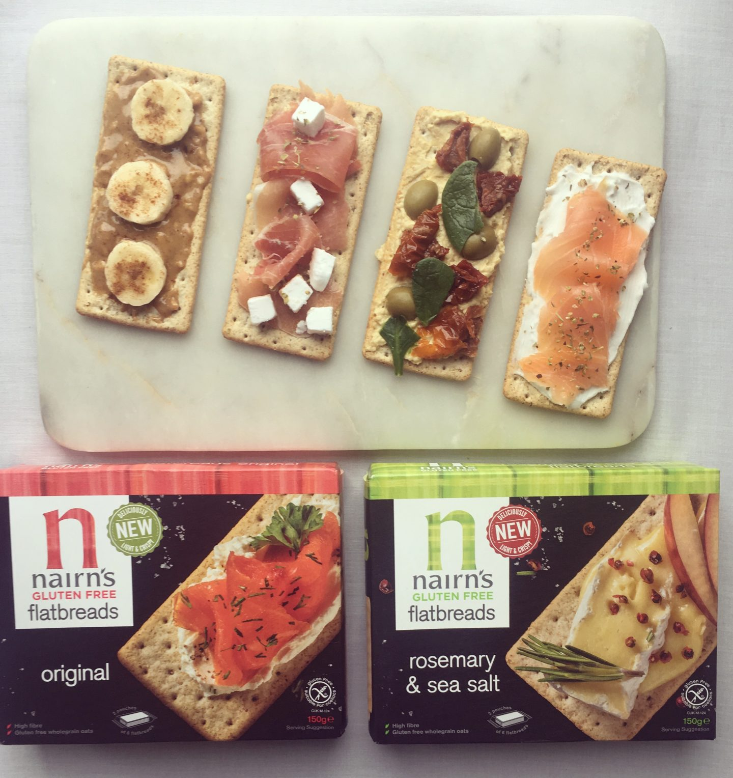 New gluten free goodies by Nairn's